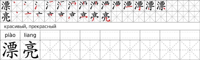 Китайские прописи
